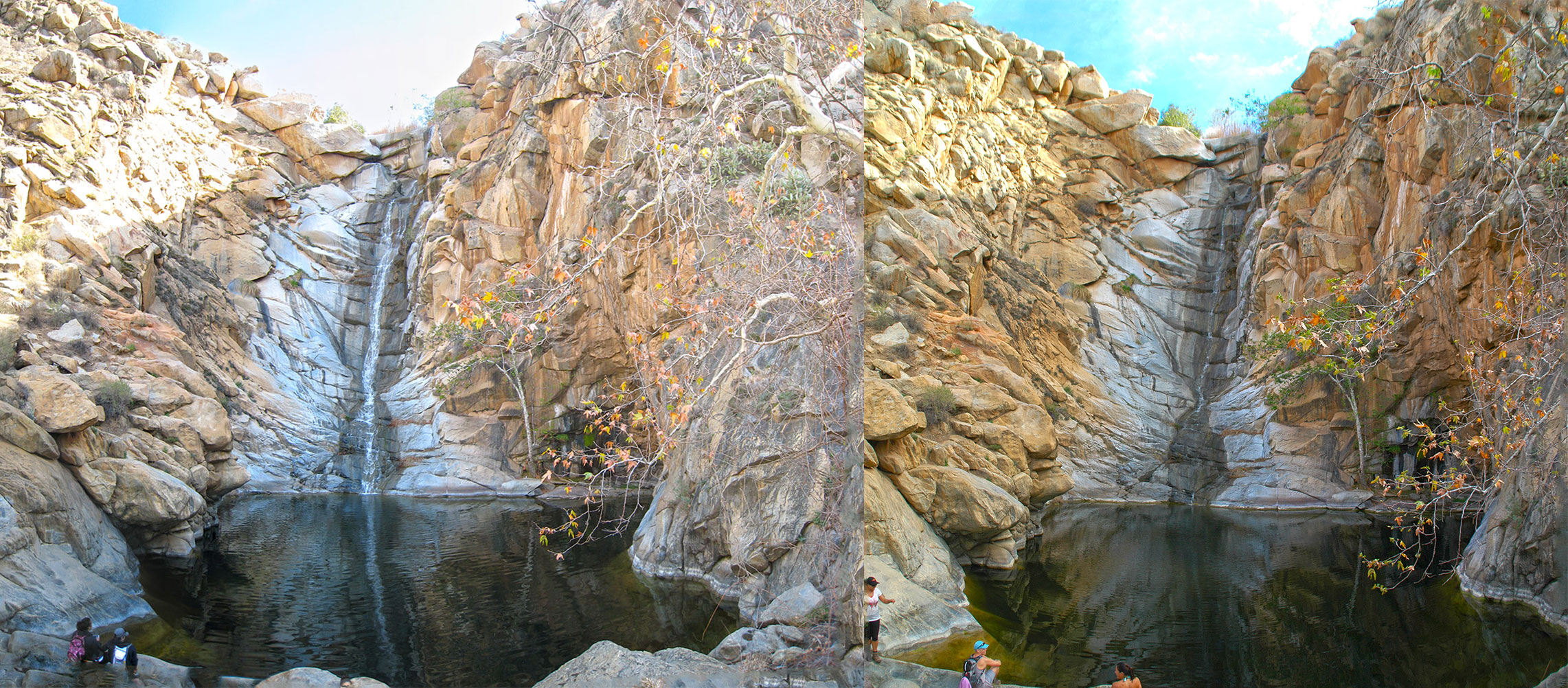 Cedar creek falls i hike san diego for Cedar creek