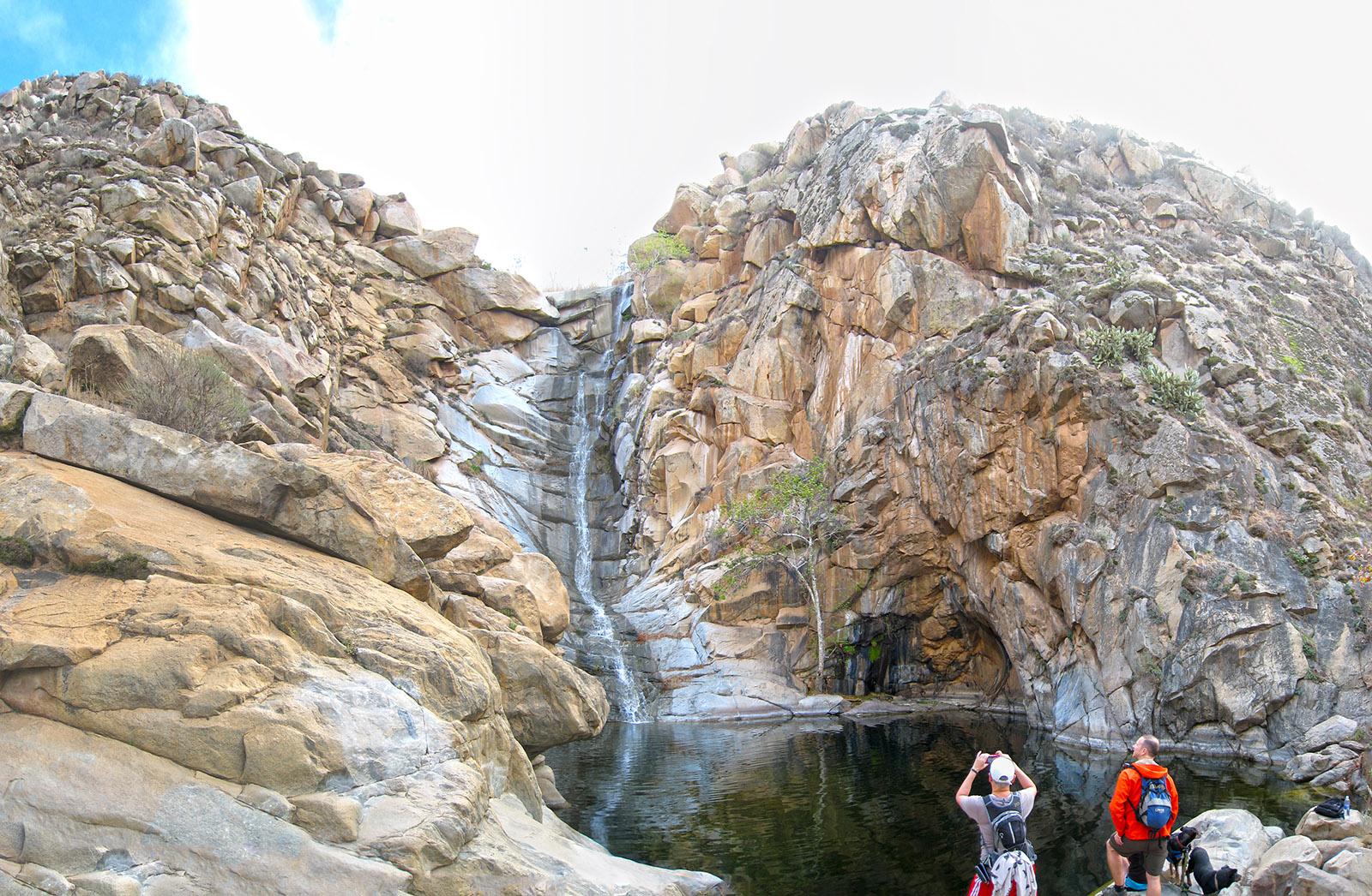 cedar creek falls - i hike san diego