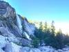 heading up past nevada falls