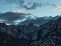 a closer look at dark clouds around mt whitney