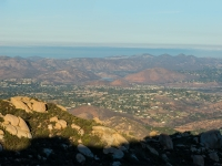 Looking west towards Lake Hodges