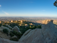 Looking out from Potato Chip Rock