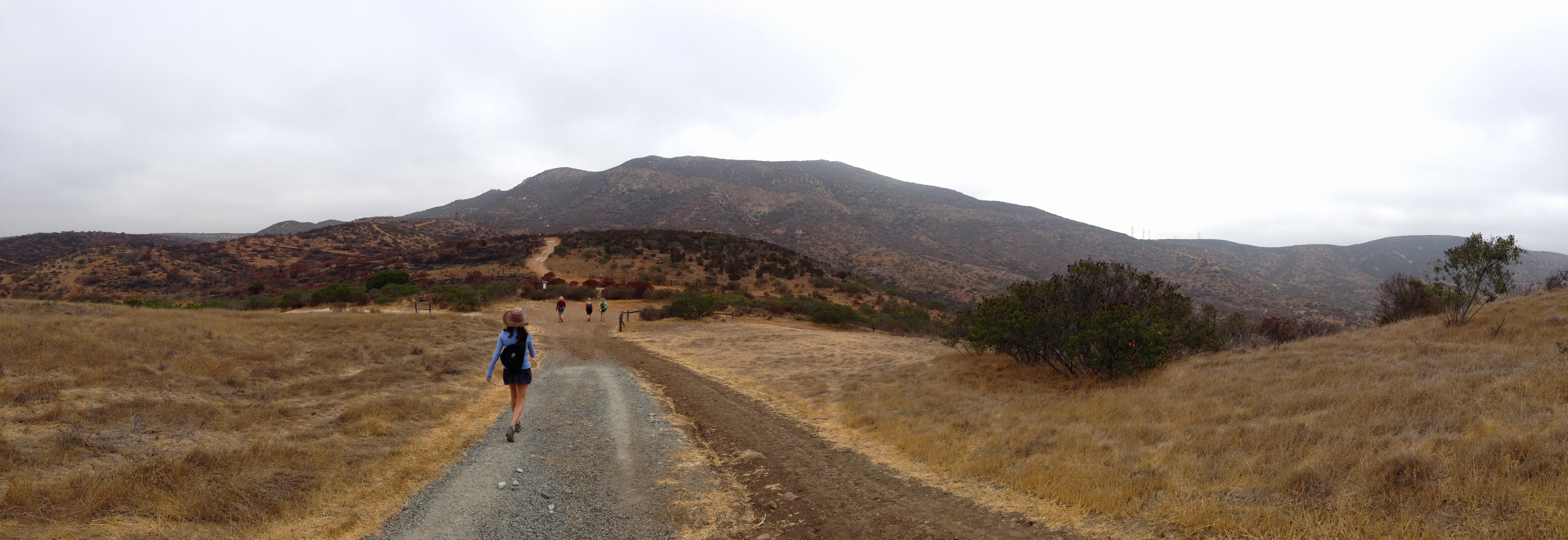 Hiking North Fortuna Mountain