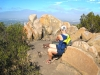 Geocaches at the top
