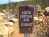 South Fortuna Mountain Sign