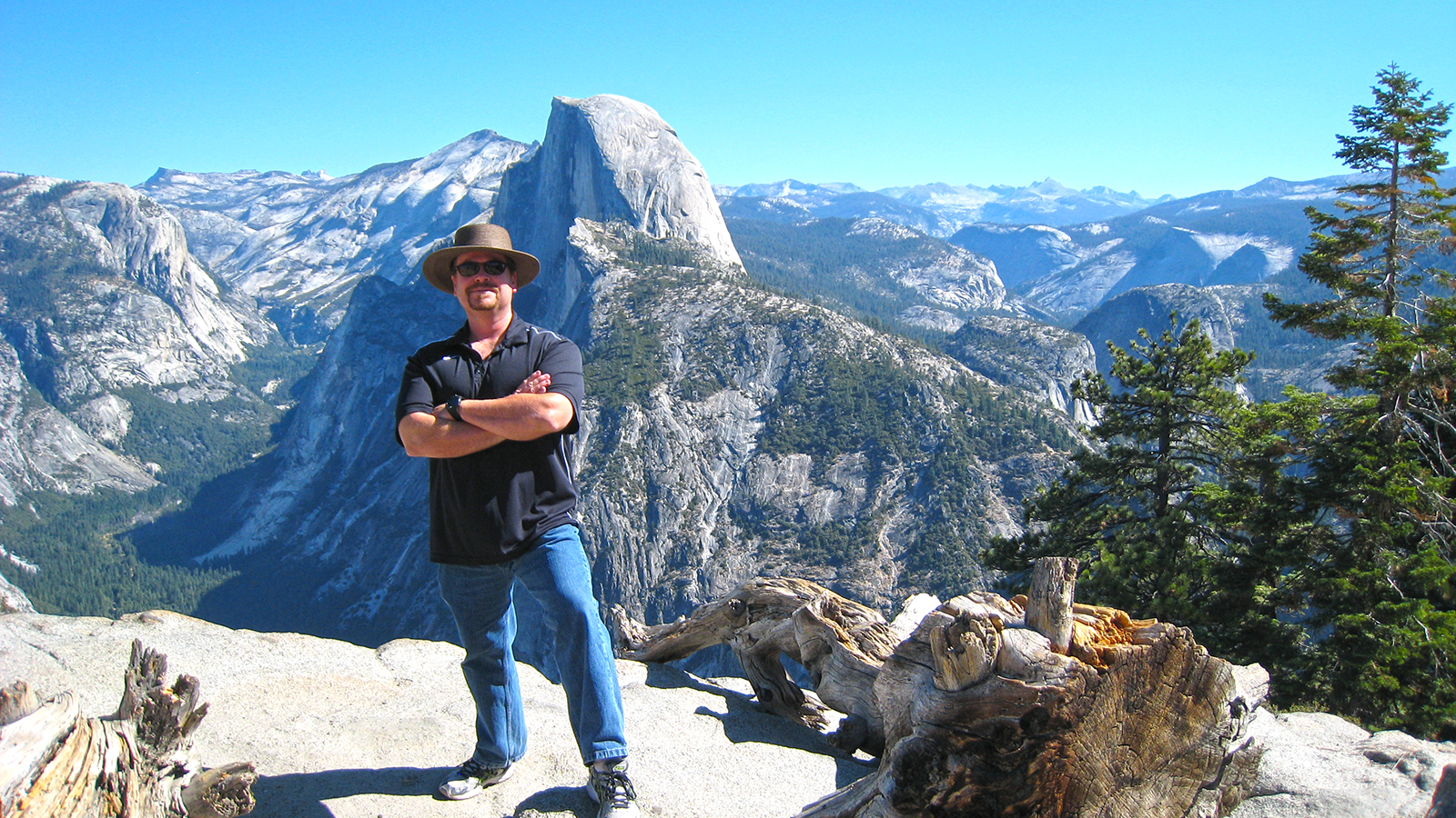 After my hike up Half Dome in Yosemite