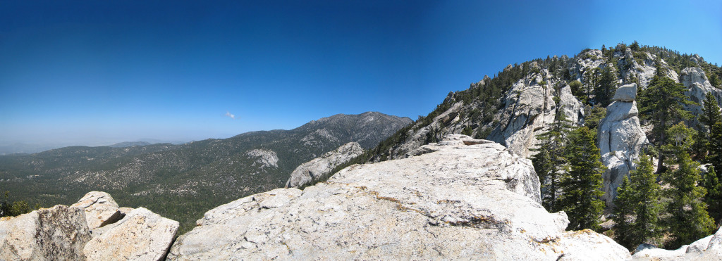 Mothers Day Hike on South Ridge Trail to Tahquitz Peak