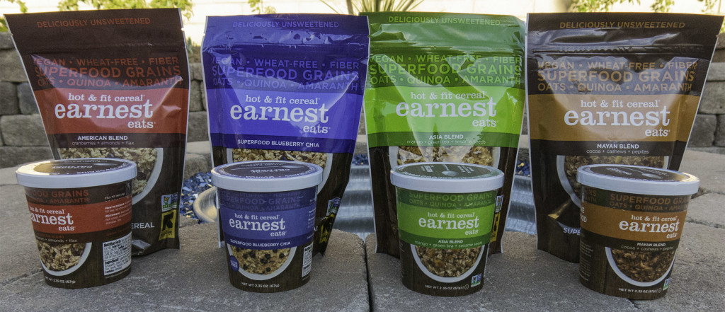 Earnest Eats – Hot and Healthy Cereal's. Product Review