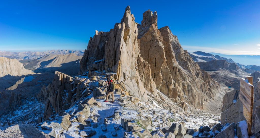 Mt Whitney : Climbing the tallest mountain in the lower 48.