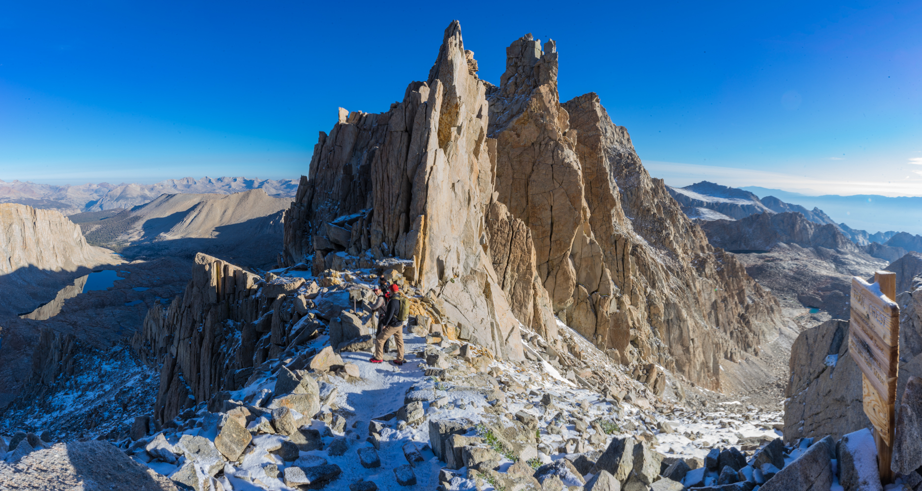 mt whitney how tall