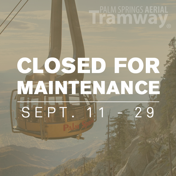 Palm Springs Tram Annual Maintenance 2017