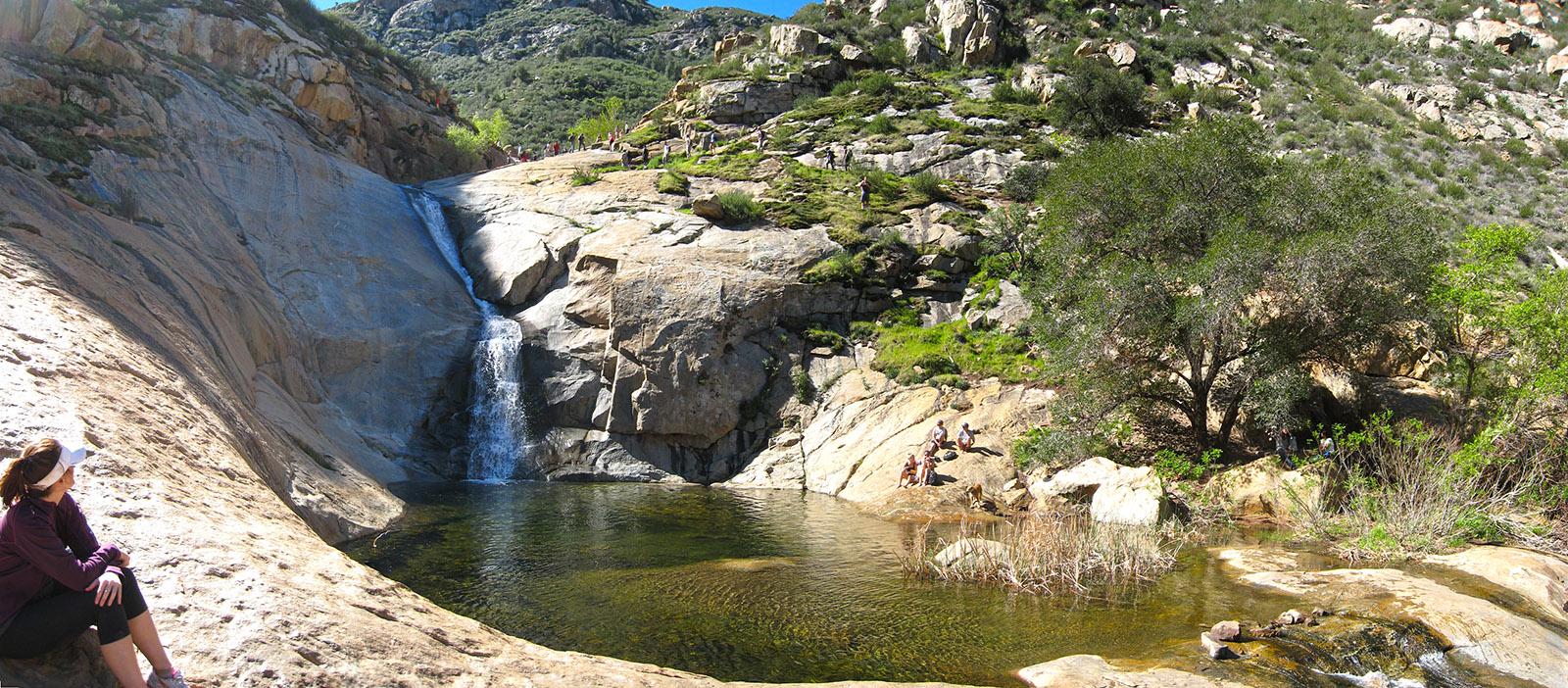 3 sisters waterfalls - i hike san diego
